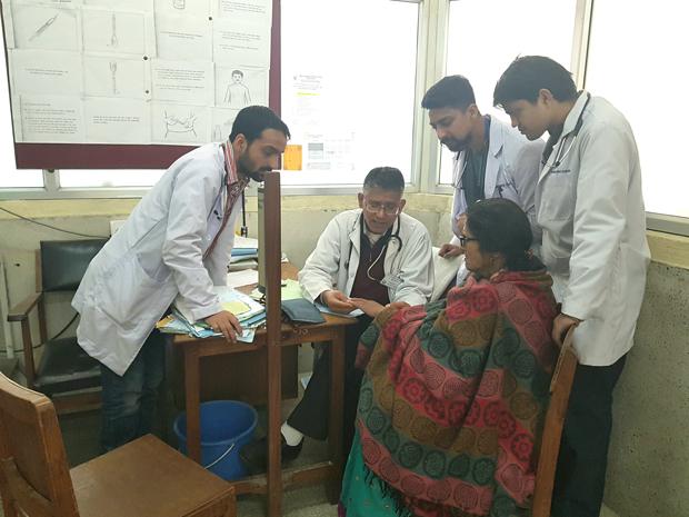 New internal medicine residency gains foothold in Nepal