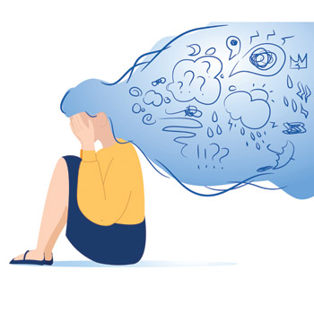 Given the high prevalence of anxiety disorders in women and adolescent girls a new recommendation says screening should be part of routine practice much like depression screening has become Image b